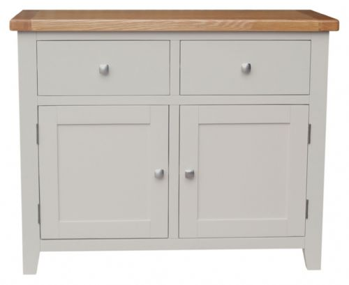Malvern 2 Door Soft Grey Sideboard